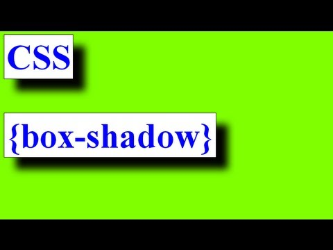 CSS How To: Box-shadow