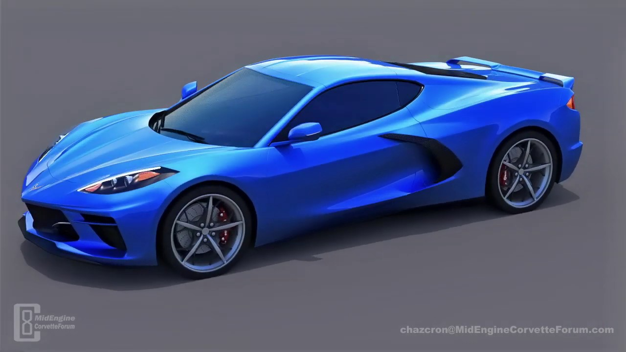 New 2020 Corvette C8 Renderings Might Be Onto Something Carscoops