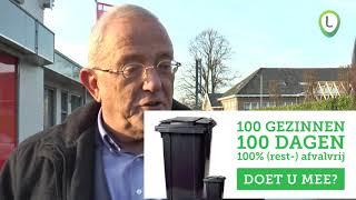 Afvalproject met 100 100 100 gemeente  Oldebroek
