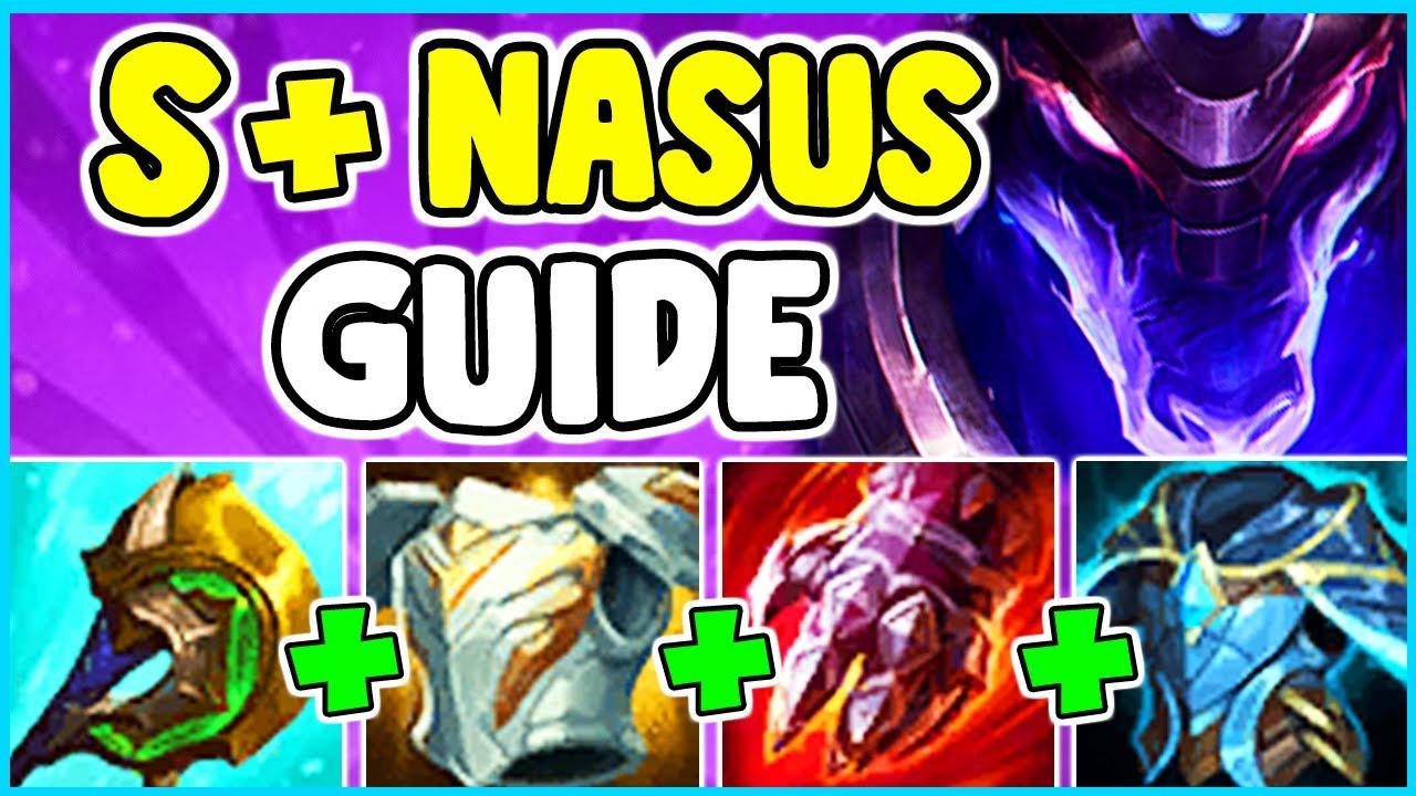 Nasus build s11 jungle