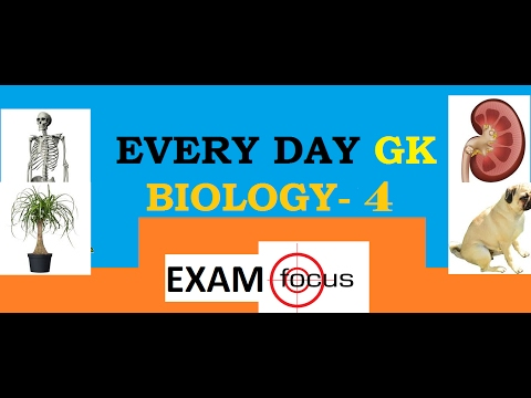 BIOLOGY QUESTIONS  MOST ASKED IN COMPETITION EXAMS - SSC JE/CGLE/CHSL/MTS, DMRC JE/CRA ,DDA , PSC's