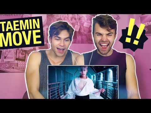 "FIRST TIME REACTING TO TAEMIN [태민 ""MOVE"" MV]"
