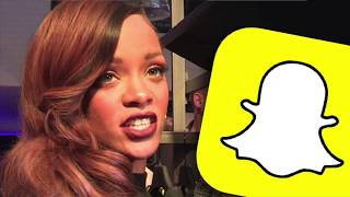 Rihanna's RANT Causes Snapchat To Lose 800 Million Dollars Overnight!