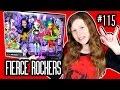 НОВИНКА новые куклы Монстер Хай Клодин Венера Джинафаер FIERCE ROCKERS обзор 2016 Monster High трио