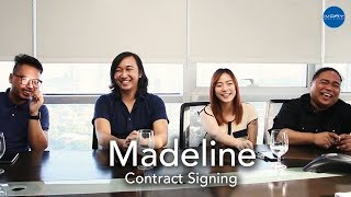 MADELINE Contract Signing
