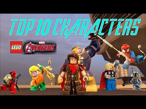 LEGO Marvel's Avengers - Top 10 Favorite Characters (With All DLC)