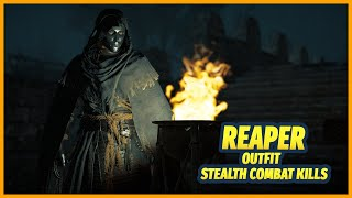Reaper Outfit Stealth Combat Kills [Assassin's Creed Valhalla]