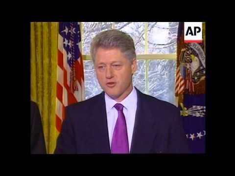 USA - Clinton on death of Deng Xiaoping