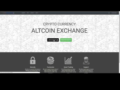 How to use CoinExchange.io to trade AltCoins - 10/17/17
