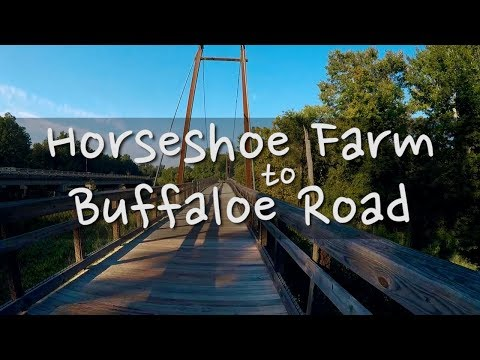 Ep 02 Horseshoe Farm To Buffaloe Road, Raleigh NC - Day Hike