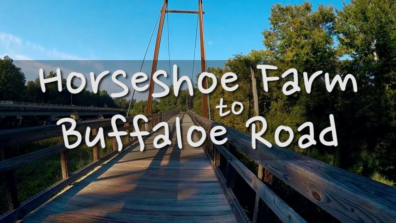 Horseshoe Farm To Buffaloe Road Raleigh Nc Day Hike Youtube