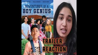 BOY GENIUS Official Trailer (2019) Reaction #Teen Movie |#Miles Brown|#Rita Wilson