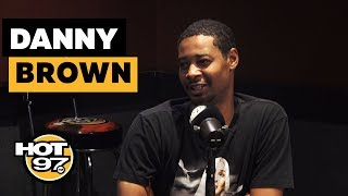 Danny Brown Shares CRAZY Conspiracies + Opens Up On His History w/ Addiction