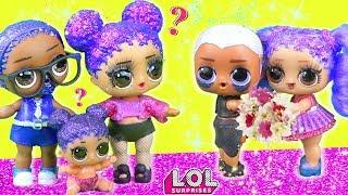 Мама в ШОКЕ! У Марии скоро свадьба! Мультик про куклы лол сюрприз LOL dolls