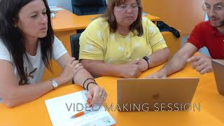 Media Edu and Video Making@School with the Bulgarian Team