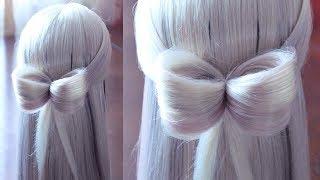 Бантик из волос | Авторские причёски | Лена Роговая | Hairstyles by REM | Copyright ©