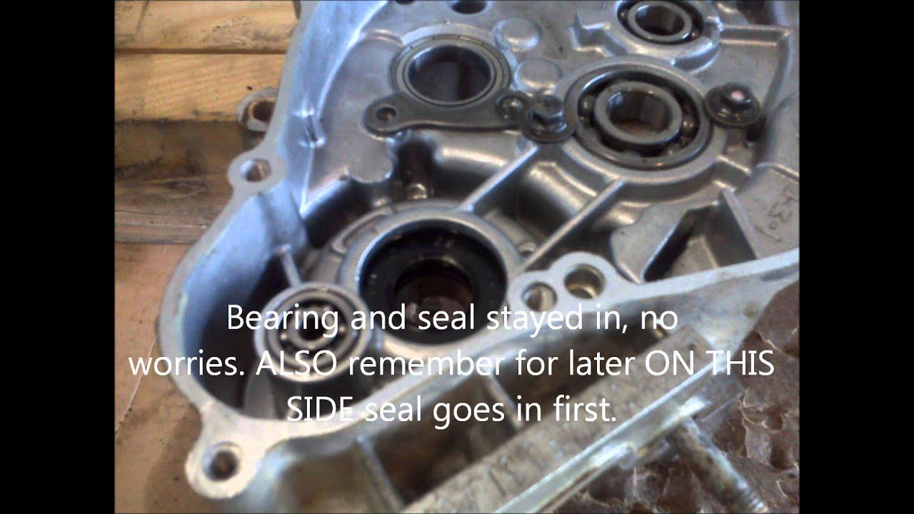KX65 bottom end rebuild YouTube – Kx 100 Engine Diagram