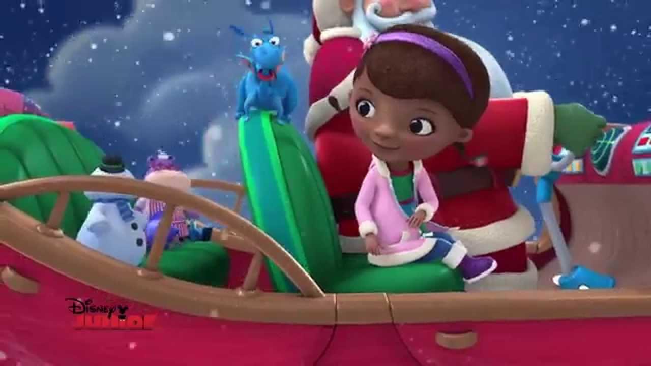 Disney junior c 39 est no l la chanson de docteur la peluche youtube - Toufy docteur la peluche ...