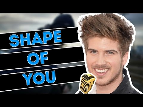 Joey Graceffa Singing Shape Of You