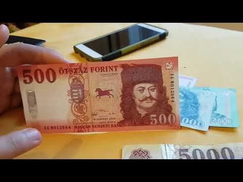 Hungarian Forint In Budapest🇭🇺 / New And Old Series / Ft Áron