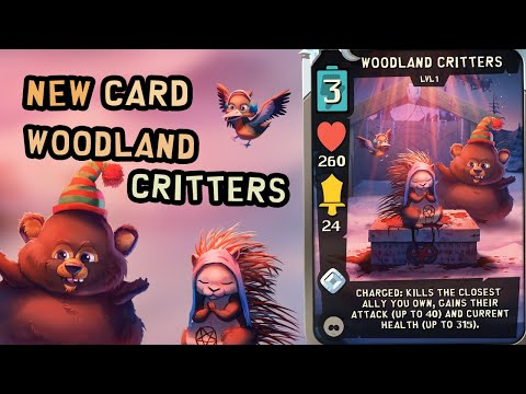Gameplay Woodland Critters