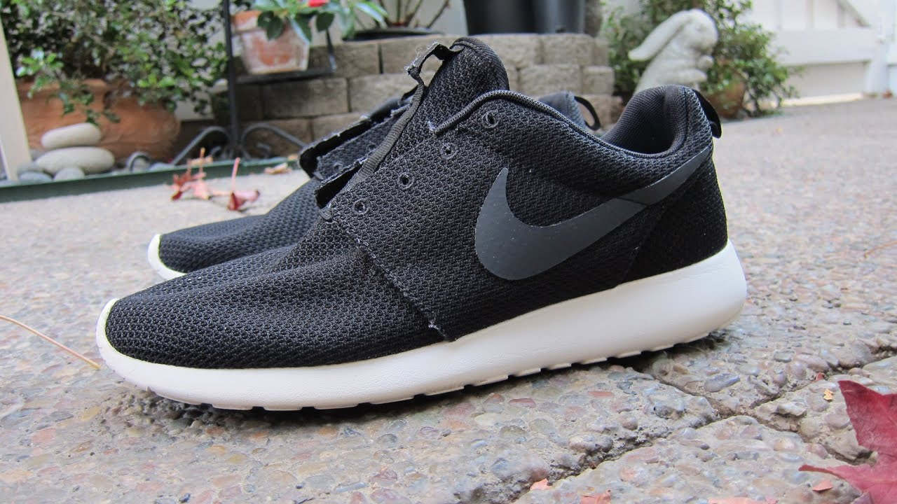womens nike white & grey roshe run woven trainers methodology