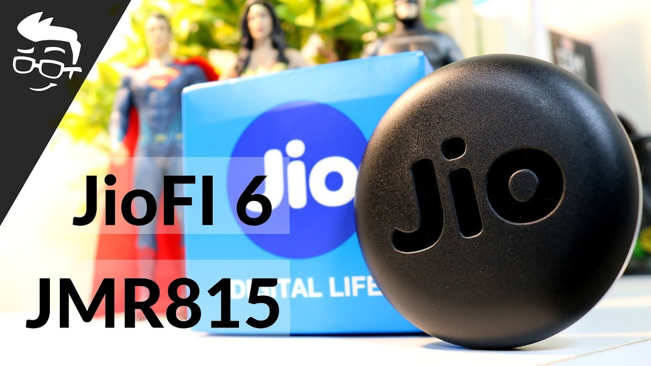 New JioFi JMR815 (JioFi 6) Review, Unboxing, Setup | Hindi | Fastest 4G  Pocket WiFi?