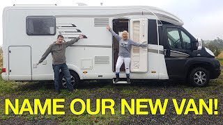 A Tour Of Our New Motorhome!