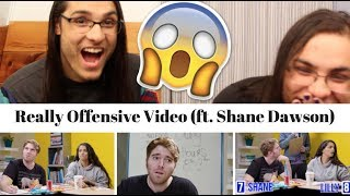 Really Offensive Video (ft. Shane Dawson) I OUR REACTION! // TWIN WORLD