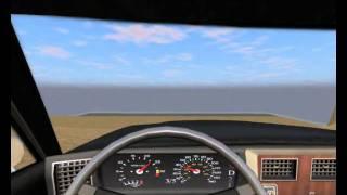 Rigs of Rods [gameplay PC] - Burnside Drag. Crash 2