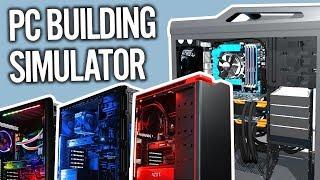 Skladáme počítače! - PC Building Simulator #1 [SK/CZ]