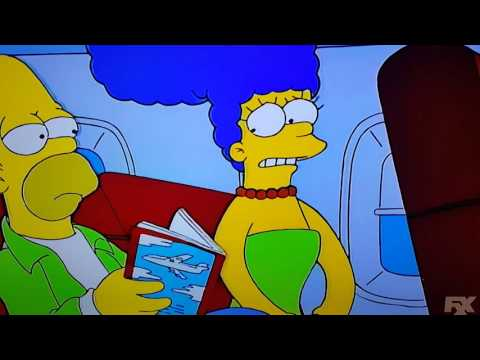 Marge Simpson Fear of Flying