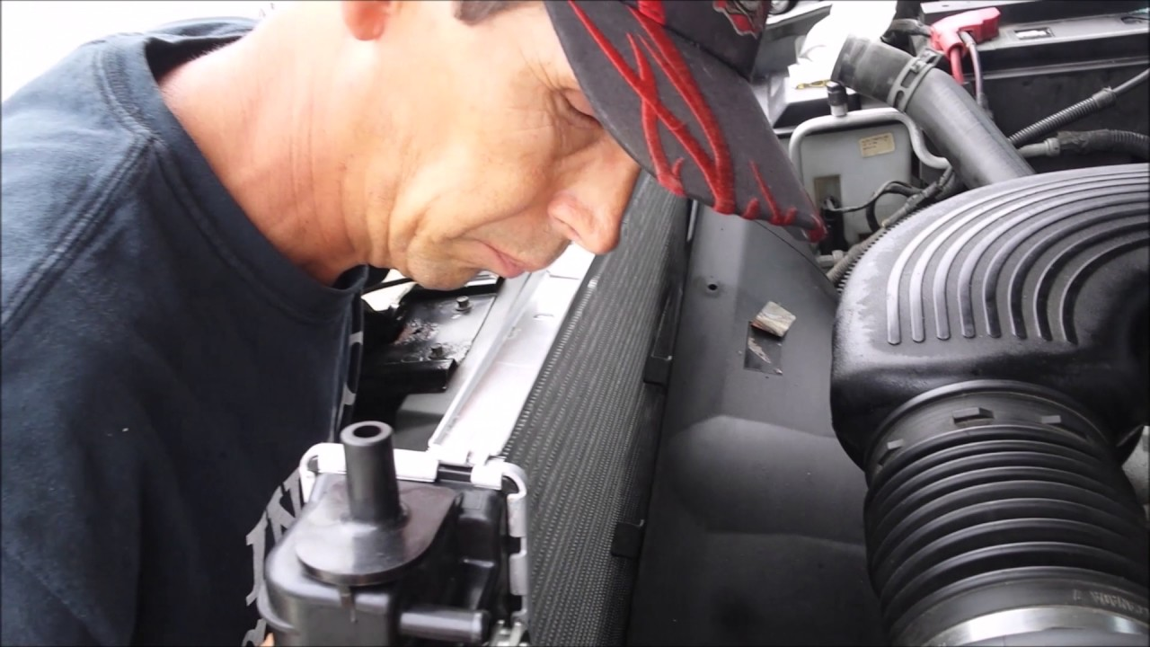 2006 Ford F150 Radiator Replacement With Tool And