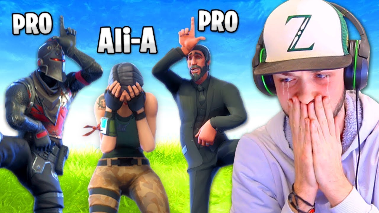 I Got Bullied By Pro Fortnite Players Youtube