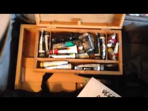 Plein Air Painting Kit for Air Travel