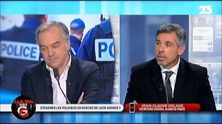 DÉSARMER LES POLICIERS EN DEHORS DE LEUR SERVICE