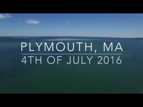 4TH OF JULY DRONE - PLYMOUTH, MA