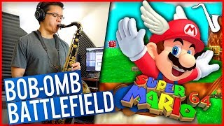 Super Mario 64: Bob-Omb Battlefield Funk Arrangement || insaneintherainmusic