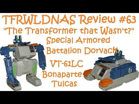Pre'Transformer?  63: Dorvack VT61LC Bonaparte Tulcas
