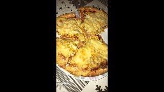 Kupljena pizza na nas naci/Gekaufte Pizza auf unsere Art