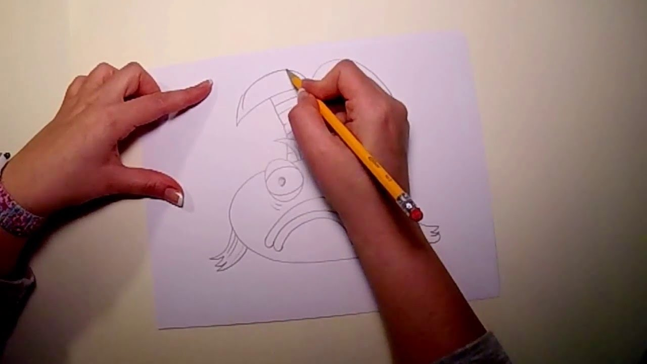How to Draw the Pout Pout Fish - YouTube