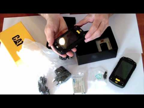 Caterpillar B10 wat zit er in de doos?