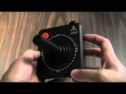 CGRundertow PLUG IT IN AND PLAY TV GAMES: ATARI 10 IN 1 Video Game Hardware Review