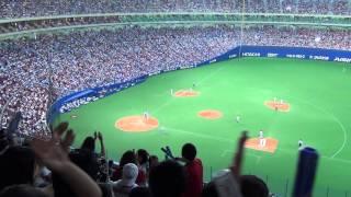 2013/7/13 vs 読売ジャイアンツ戦 2回2死ランナー1塁2塁でバッターは8番...