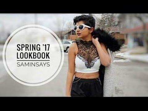 Spring '17 LOOKBOOK // SaminSays