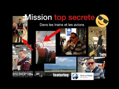 Mission TOP SECRETE dans les TRAINS et AVIONS en SUISSE ! Feat Chris Le Panda RF_1_3