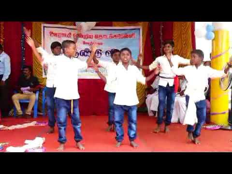 Boys cut song Mela sakkudi primary school Annual day 02-04-2018