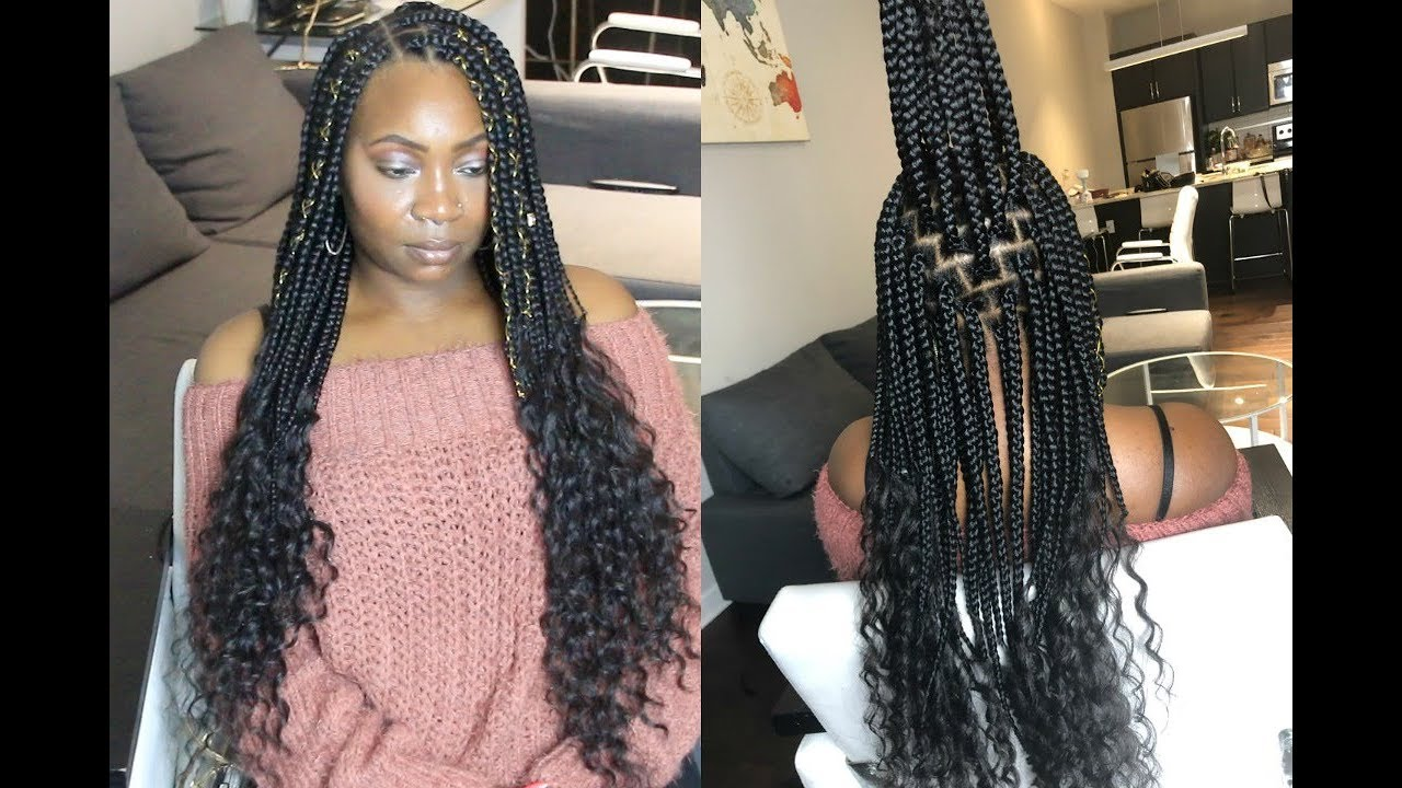 Goddess Box Braids Everything You Need To Know Youtube