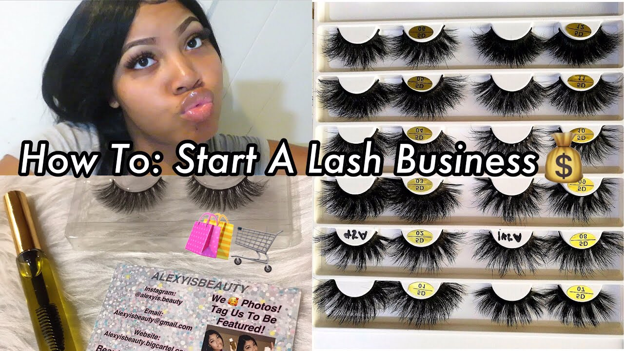 How To Start Your Own Lash Line Vendors Included Youtube