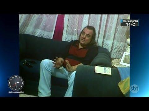 Acusado de matar zelador inocenta esposa e diz ter agido sozinho | SBT Notícias (04/10/17)